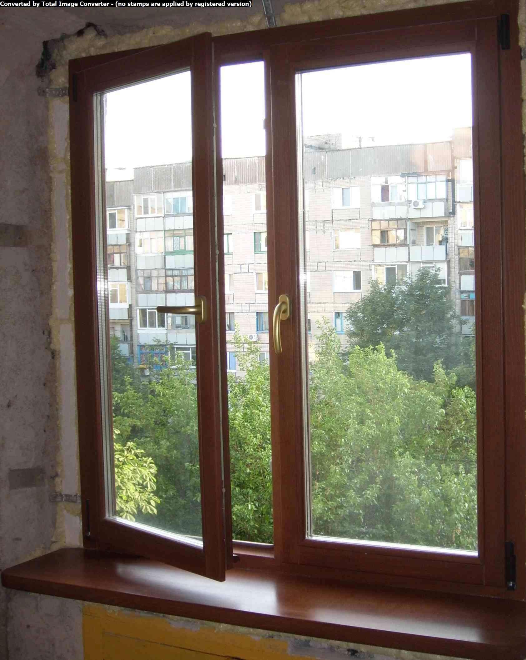 Оконные рамы на балкон. - галерея работ совмещение - каталог.