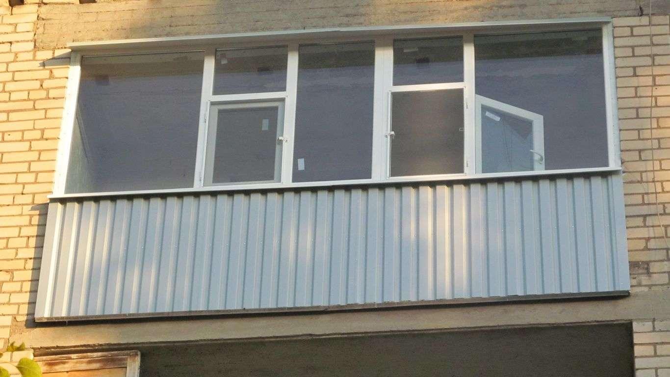 застеклить балкон кривой рог