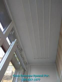 Обшивка балкона и установка сушилки