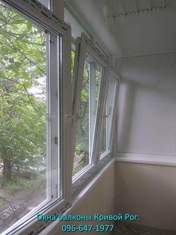 Обшивка и остекление балкона