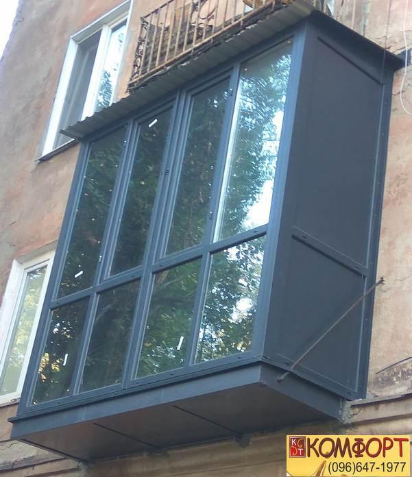 Французский балкон от компании Комфорт